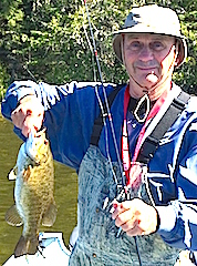 Great Smallmouth Bass Fishing at Fireside Lodge in Canada